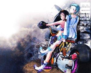 Rating: Safe Score: 14 Tags: eureka eureka_seven motorcycle talho_yuuki User: Oyashiro-sama