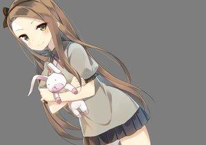 Rating: Safe Score: 38 Tags: blush brown_eyes brown_hair bunny idolmaster junp long_hair minase_iori skirt transparent User: RyuZU