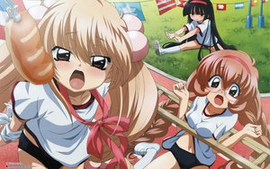 Rating: Questionable Score: 35 Tags: bloomers gym_uniform kagami_kuro kodomo_no_jikan kokonoe_rin loli scan usa_mimi_(character) User: Oyashiro-sama