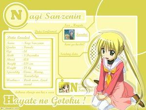 Rating: Safe Score: 24 Tags: blonde_hair blue_eyes hayate_no_gotoku logo sanzenin_nagi school_uniform thighhighs twintails watermark User: ultima1994