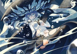 Rating: Safe Score: 106 Tags: anthropomorphism bubbles headdress jpeg_artifacts kantai_collection pantyhose torn_clothes underwater water wo-class_aircraft_carrier zicai_tang User: Flandre93