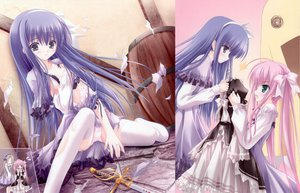 Rating: Questionable Score: 60 Tags: duel_dolls panties thighhighs tinkle torn_clothes underwear User: Xtea
