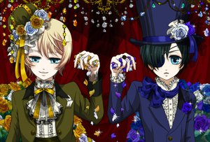 Rating: Safe Score: 19 Tags: alois_trancy ciel_phantomhive kuroshitsuji User: HawthorneKitty
