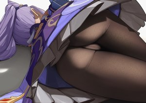 Rating: Questionable Score: 94 Tags: aliasing ass cameltoe close genshin_impact keqing_(genshin_impact) long_hair pantyhose purple_hair signed skirt_lift twintails wusie2 User: BattlequeenYume