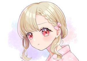 Rating: Safe Score: 41 Tags: blonde_hair blush braids close japanese_clothes kashika_(siiika) original red_eyes short_hair yukata User: otaku_emmy