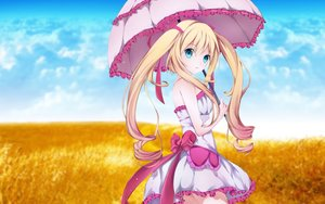 Rating: Safe Score: 72 Tags: aqua_eyes blonde_hair dress hizo_(hizoo) original User: kyxor