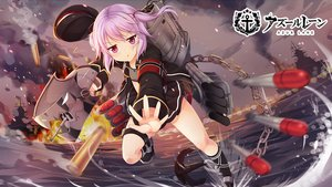 Rating: Safe Score: 39 Tags: anthropomorphism azur_lane blush boat bra clouds fire flat_chest garter hat logo loli open_shirt purple_eyes purple_hair sakuraba_hikaru_(loveindog) seifuku short_hair skirt sky twintails underwear water weapon z21_(azur_lane) User: luckyluna