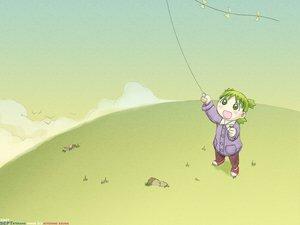Rating: Safe Score: 9 Tags: green kite koiwai_yotsuba yotsubato! User: Oyashiro-sama
