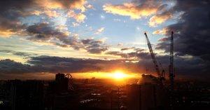 Rating: Safe Score: 28 Tags: clouds industrial oright original realistic scenic sky sunset User: mattiasc02