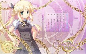 Rating: Safe Score: 65 Tags: blonde_hair calendar chrono_clock dorothy_davenport green_eyes logo long_hair purple_software seifuku tsukimori_hiro twintails User: Wiresetc