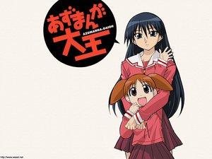 Rating: Safe Score: 11 Tags: azumanga_daioh mihama_chiyo sakaki User: Oyashiro-sama