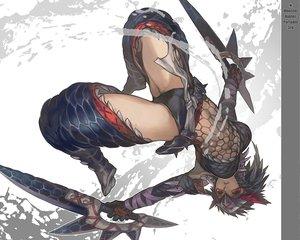 Rating: Safe Score: 285 Tags: aoin_(omegaboost) monster_hunter nargacuga_(armor) red_eyes weapon User: HawthorneKitty