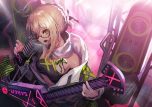 Rating: Safe Score: 39 Tags: akieda artoria_pendragon_(all) blonde_hair fate/grand_order fate_(series) glasses guitar instrument microphone mysterious_heroine_x mysterious_heroine_x_alter navel yellow_eyes User: BattlequeenYume