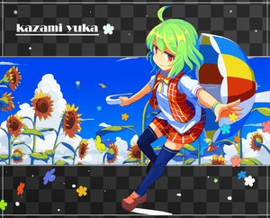 Rating: Safe Score: 34 Tags: kazami_yuuka touhou umbrella User: w7382010