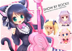 SHOW BY ROCK!!の壁紙 1314×929px 1298KB
