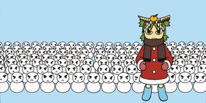 Rating: Safe Score: 16 Tags: blue futaba koiwai_yotsuba snow snowman vector yotsubato! User: 秀悟