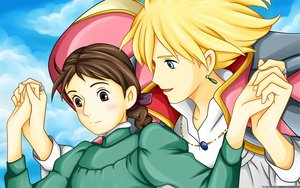 Rating: Questionable Score: 9 Tags: ghibli howls_moving_castle User: gnarf1975