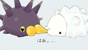 Rating: Safe Score: 9 Tags: pincurchin pokemon siratamairipafe snom User: otaku_emmy