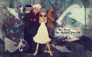 Rating: Safe Score: 23 Tags: black_star death_the_kid maka_albarn soul_eater soul_eater_evans User: rargy