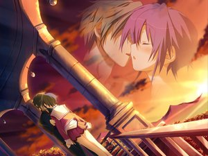 Rating: Safe Score: 14 Tags: favorite game_cg happy_margaret! kokonoka sunset tsuwabuki_akira User: 秀悟