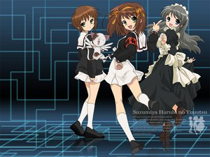 Rating: Safe Score: 44 Tags: asahina_mikuru card_captor_sakura cosplay crossover kero nagato_yuki suzumiya_haruhi suzumiya_haruhi_no_yuutsu User: Oyashiro-sama