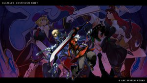 Rating: Safe Score: 20 Tags: blazblue hazama jin_kisaragi noel_vermillion ragna_the_bloodedge tsubaki_yayoi User: dgnfly