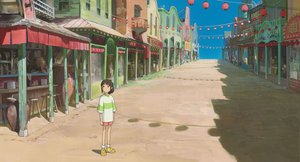 Rating: Safe Score: 19 Tags: ghibli ogino_chihiro spirited_away User: 秀悟