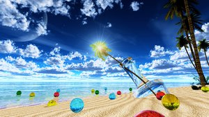 Rating: Safe Score: 60 Tags: 3d beach clouds moon nobody original scenic sky summer tree water y-k User: STORM