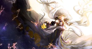 Rating: Safe Score: 72 Tags: hiyasemi_enos vocaloid white_hair xingchen yellow_eyes User: RyuZU