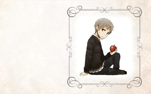 Rating: Safe Score: 0 Tags: apple craft_lawrence gray_hair short_hair spice_and_wolf white User: wanjas