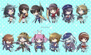 Rating: Safe Score: 82 Tags: akagi_(kancolle) akatsuki_(kancolle) animal anthropomorphism black_eyes black_hair blue_eyes blue_hair bow_(weapon) brown_eyes brown_hair bunny chibi choukai_(kancolle) fang food glasses group hat headband hibiki_(kancolle) hiei_(kancolle) ikazuchi_(kancolle) inazuma_(kancolle) japanese_clothes kaga_(kancolle) kantai_collection long_hair maya_(kancolle) miko natori_(kancolle) nino pantyhose pink_hair purple_eyes ryuujou_(kancolle) sazanami_(kancolle) school_uniform short_hair skirt thighhighs twintails weapon yellow_eyes User: C4R10Z123GT