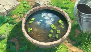 Rating: Safe Score: 126 Tags: clouds grass nobody original pippi_(p3i2) reflection scenic sky water User: RyuZU