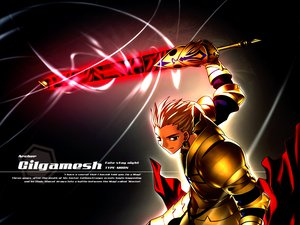 Rating: Safe Score: 9 Tags: fate/stay_night gilgamesh type-moon User: Oyashiro-sama