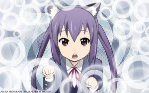 Rating: Safe Score: 30 Tags: animal_ears catgirl k-on! nakano_azusa signed User: pantu