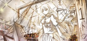 Rating: Safe Score: 105 Tags: akashi_(kancolle) anthropomorphism boyogo industrial kantai_collection long_hair polychromatic signed sketch User: vf.nightcore