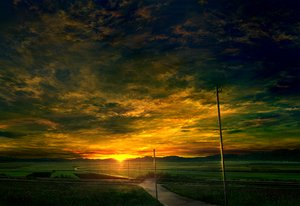 Rating: Safe Score: 108 Tags: clouds flowers landscape mks nobody original scenic sky sunset User: RyuZU