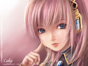 Rating: Safe Score: 64 Tags: blue_eyes close headphones long_hair megurine_luka pink pink_hair vocaloid User: HawthorneKitty