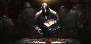 Rating: Safe Score: 24 Tags: all_male armor blood bondrewd dark gloves homunculus_no_jinzou made_in_abyss male User: SnekNOTSnake