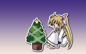 Rating: Safe Score: 3 Tags: chibi christmas fate_testarossa mahou_shoujo_lyrical_nanoha tree vector User: Oyashiro-sama