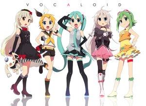 Rating: Safe Score: 105 Tags: gumi hatsune_miku ia kagamine_rin mayu_(vocaloid) vocaloid User: Maboroshi