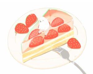 Rating: Safe Score: 13 Tags: animal bear cake chai_(artist) food fruit nobody original polychromatic signed strawberry white User: otaku_emmy