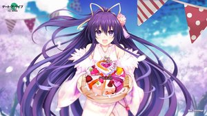 Rating: Safe Score: 43 Tags: cake date_a_live food japanese_clothes kimikimi long_hair purple_eyes purple_hair yatogami_tohka User: RyuZU