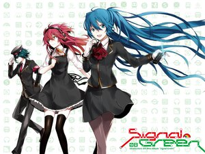 Rating: Safe Score: 77 Tags: 3girls aqua_eyes aqua_hair arisaka_ako blue_eyes blue_hair dress gloves gumi hat hatsune_miku headphones long_hair nanase_kanon pantyhose ribbons short_hair thighhighs tie twintails uniform vocaloid User: Wiresetc