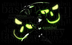 Rating: Safe Score: 115 Tags: black black_hair black_rock_shooter green_eyes scythe takanashi_yomi weapon User: FoliFF
