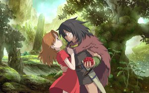 Rating: Questionable Score: 41 Tags: arrietty brown_eyes brown_hair ghibli karigurashi_no_arrietty long_hair sword tagme weapon User: gnarf1975