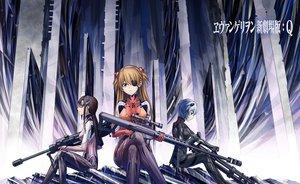 Rating: Safe Score: 132 Tags: ayanami_rei eyepatch gun jjwww_love makinami_mari_illustrious neon_genesis_evangelion soryu_asuka_langley weapon User: BoobMaster