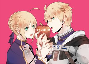Rating: Safe Score: 59 Tags: 884 apple armor artoria_pendragon_(all) blonde_hair fate/prototype fate_(series) fate/stay_night fate/zero food fruit green_eyes male ribbons saber User: Maboroshi