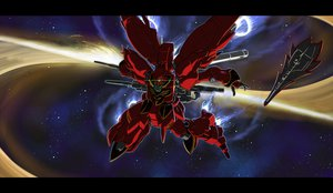 Rating: Safe Score: 55 Tags: gomi_kushige mecha mobile_suit_gundam mobile_suit_gundam_unicorn space weapon User: WingsofLight