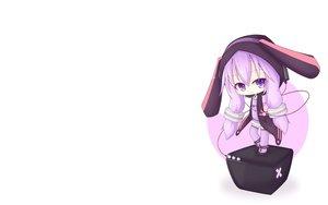 Rating: Safe Score: 65 Tags: cat_smile chibi headphones hoodie miiya_(kuroi_hako) purple_eyes purple_hair thighhighs vocaloid voiceroid white yuzuki_yukari User: SciFi