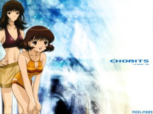 Rating: Safe Score: 3 Tags: chobits oomura_yumi shimizu_takako swimsuit User: Oyashiro-sama